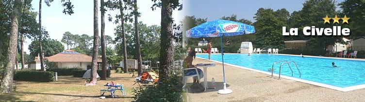 De mars septembre toute l 39 quipe du camping municipal for Piscine capbreton
