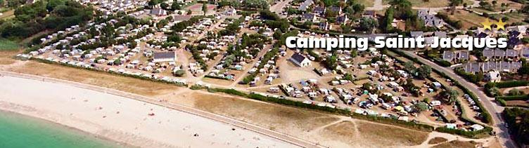 Le camping st jacques camping 2 toiles en bretagne est situ en bord de mer le camping - Port saint jacques morbihan ...